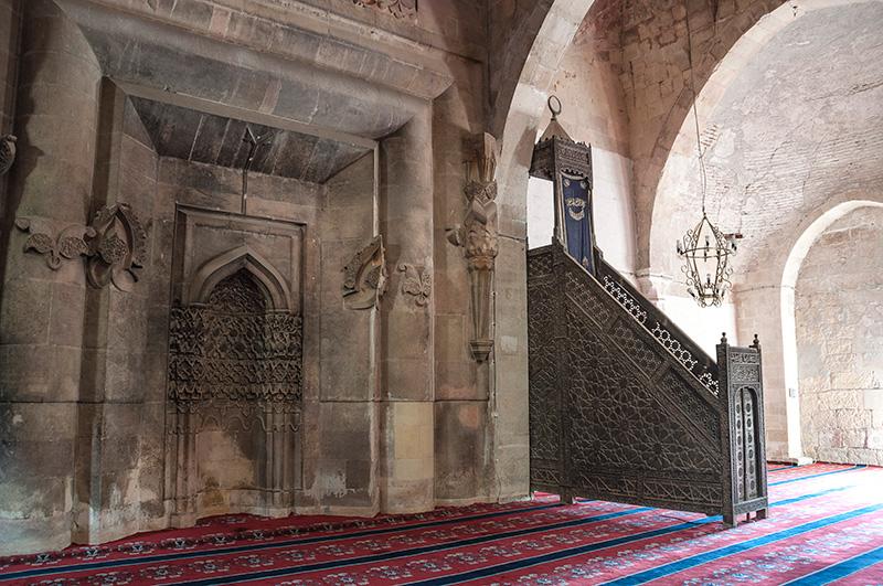 divrigi ulu cami minberi - Divriği Ulu Camii ve Darüşşifası