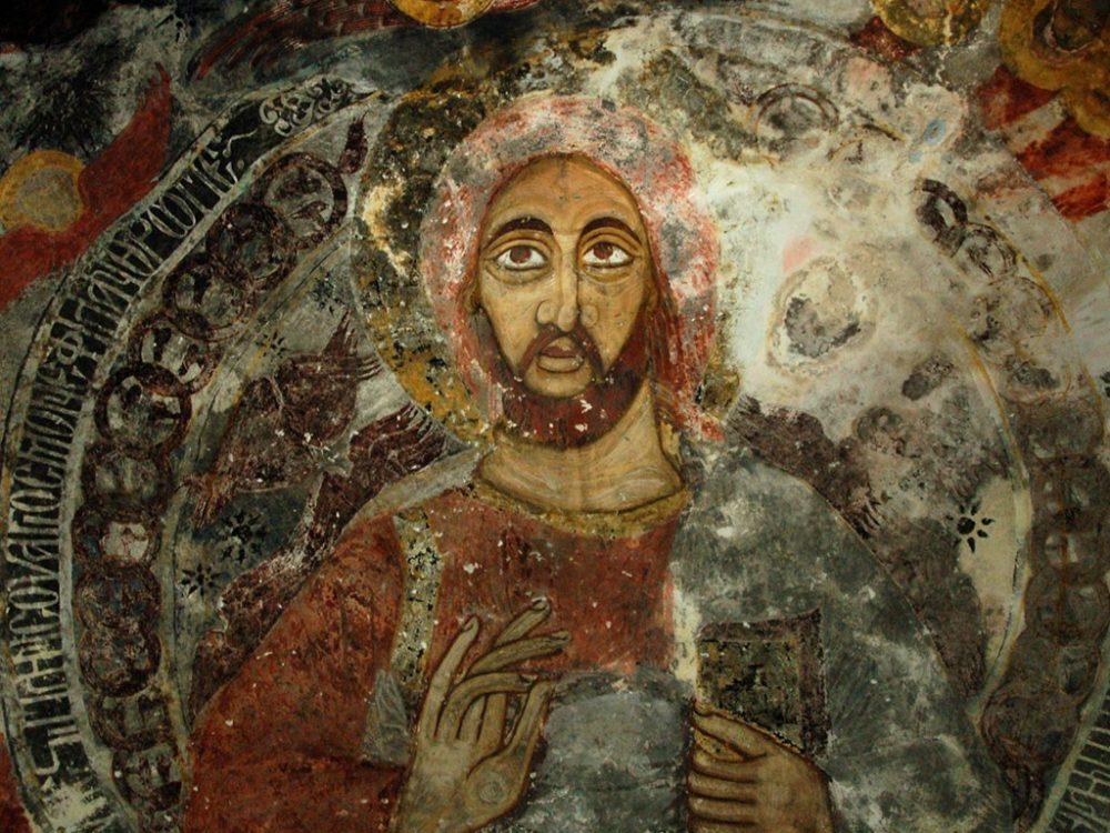 meryem ana kilisesi freksolari 1000x750 - Sümela Manastırı