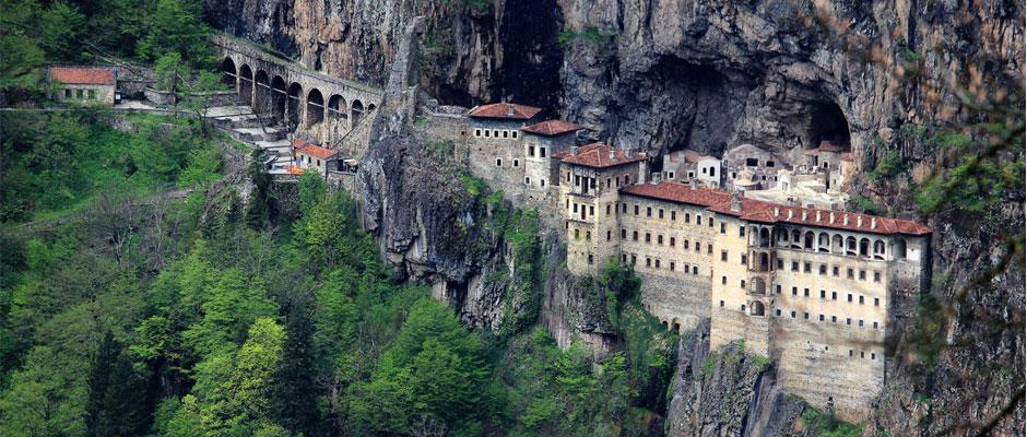 Sümela Manastırı-Meryem Ana Kilisesi