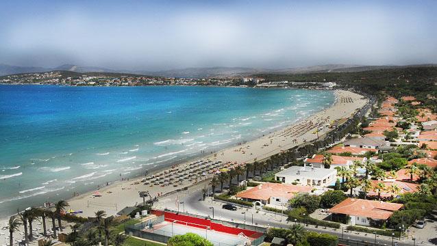 alacati plajlari - İzmir Çeşme Alaçatı