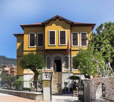 alanya ataturk evi muzesi - Antalya-Alanya Gezilecek Yerler