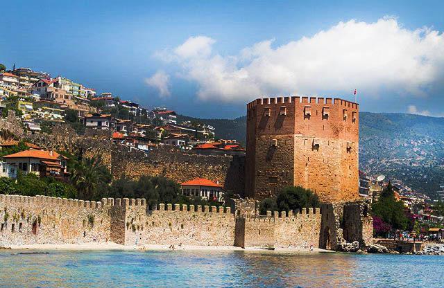 alanya kalesi - Antalya-Alanya Gezilecek Yerler