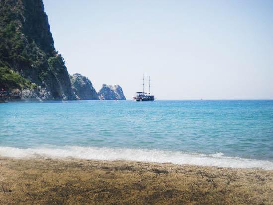 alanya plajı kloepatra - Antalya-Alanya Gezilecek Yerler