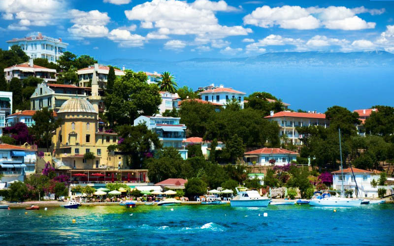 istanbul adalar kınalıada - İstanbul Adalar da Gezilecek Yerler