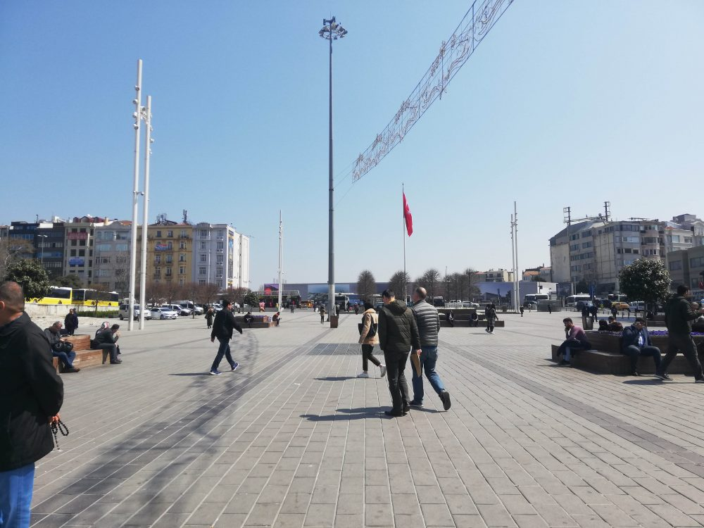 gezi parki 1000x750 - Taksim-Gezi Parkı-İstiklal