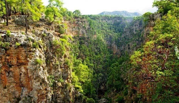 antalya guverucurumu kanyonu - Türkiye'nin En İyi Kamp Yerleri