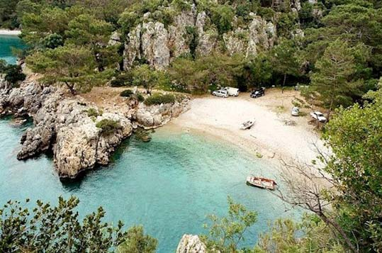 antalya korsan koyu - Türkiye'nin En İyi Kamp Yerleri